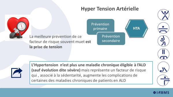 Hypertension artérielle et AP thérapeutique