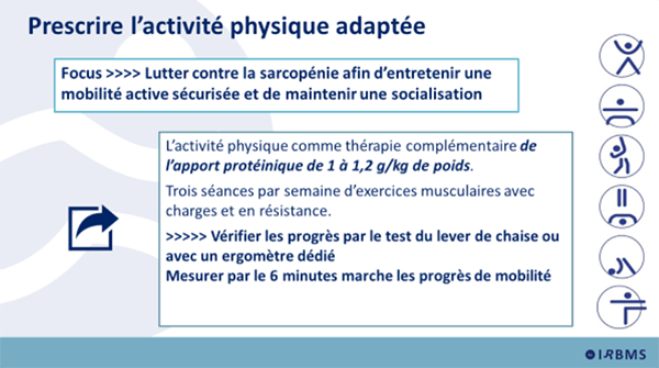 Prescrire l'APA (cancers)
