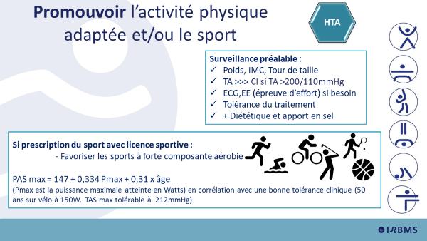 Promouvoir l'activité physique adaptée et/ou le sport
