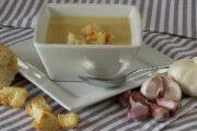 Recette de soupe à l'ail